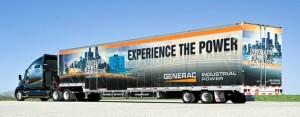 GENERAC Power generator Truck