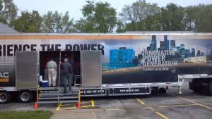 Power Systems Generac Trailer