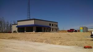 New EVAPAR center lot