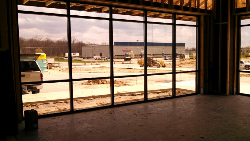 From inside the new EVAPAR, Fort Wayne, IN